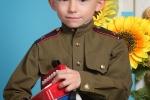 фотосъемка мальчик в военной форме