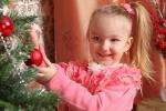 новогодняя фотосессия у елки