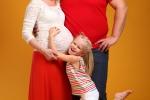 семья ждет малыша