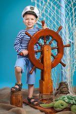 фотосессия юный моряк
