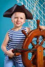 фотосессия юного мореплавателя