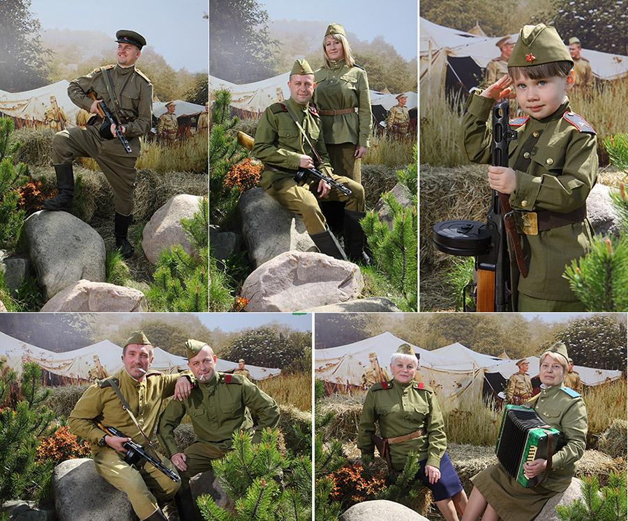 Выездная фотостудия на День Победы