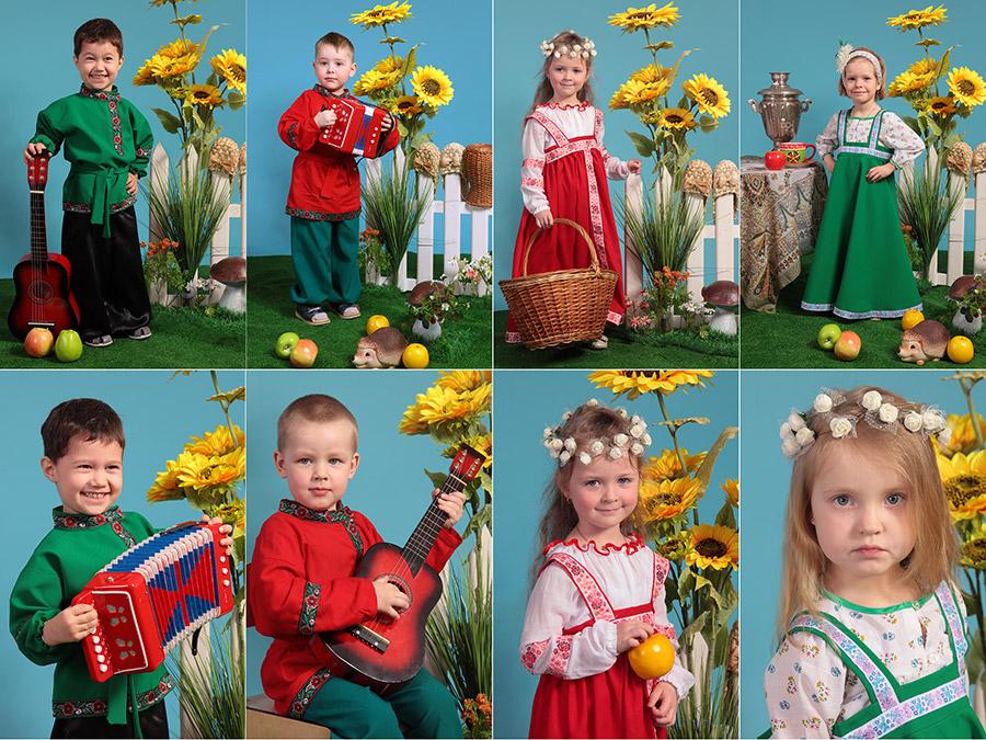 выездная детская фотостудия