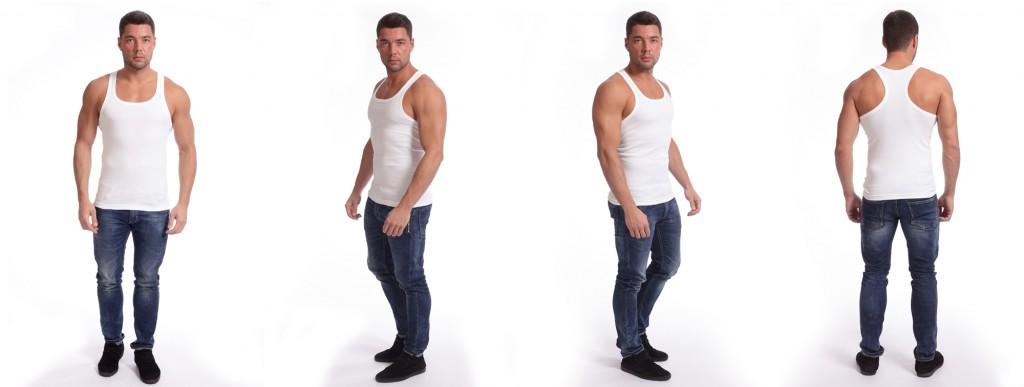 Фотосхъемка мужской одежды