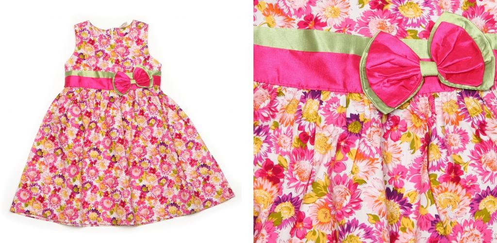предметная фотосъемка платья для девочки