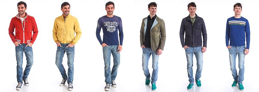фотосъемка мужской одежды на модели