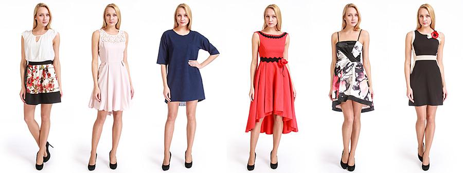 фотосъемка одежды на моделях