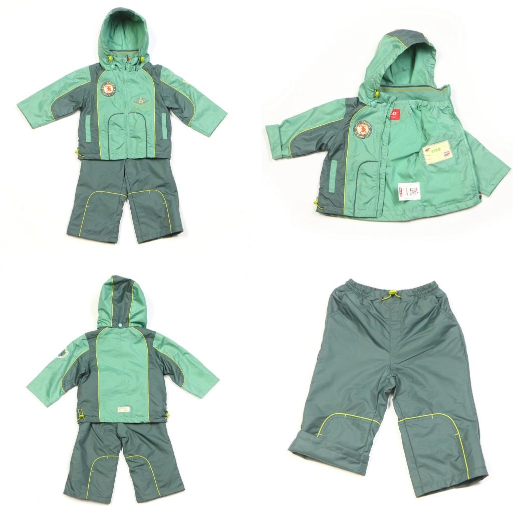Весенний комплект (куртка и брюки) для ребенка - 4 ракурса