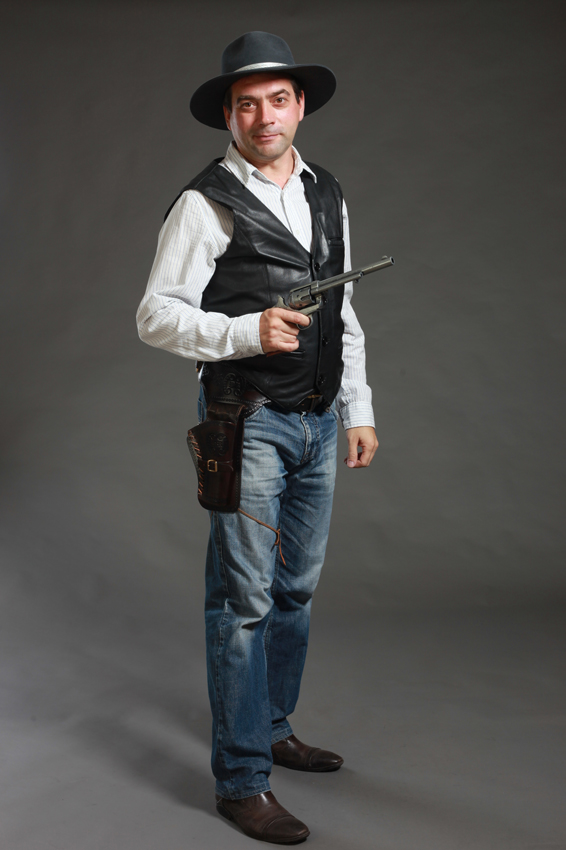 костюм ковбоя для фотосессий