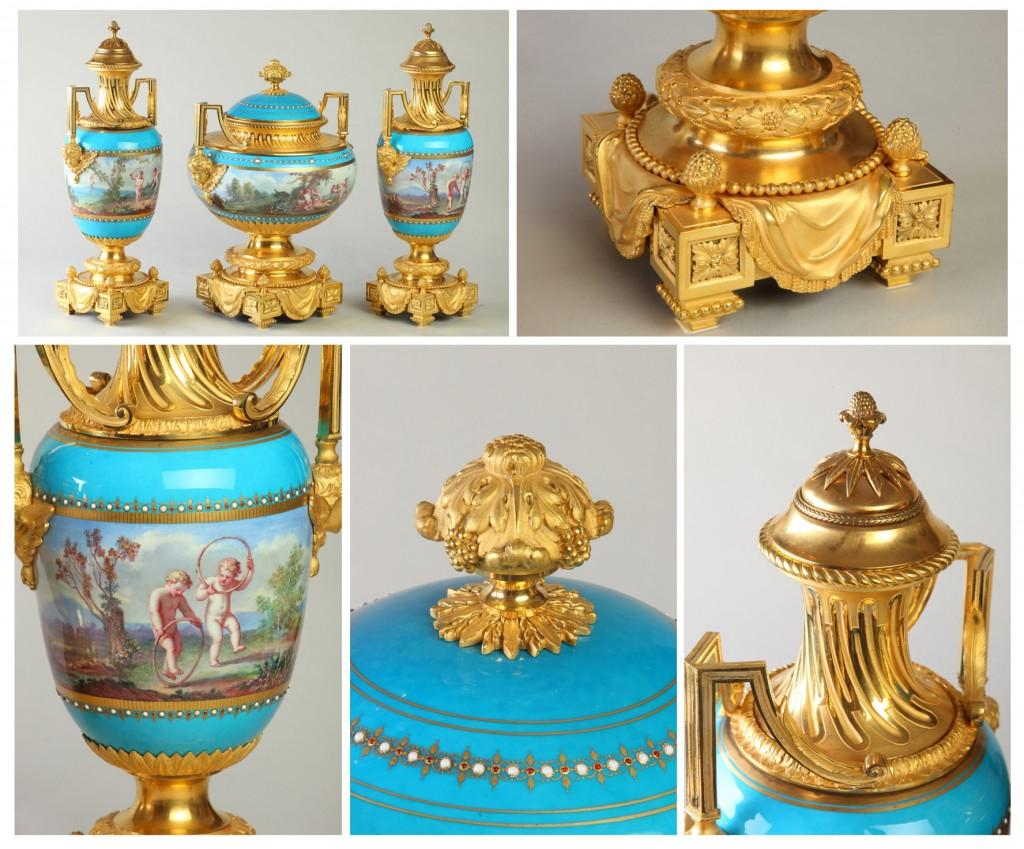 Антикварные вазы. 5 ракурсов