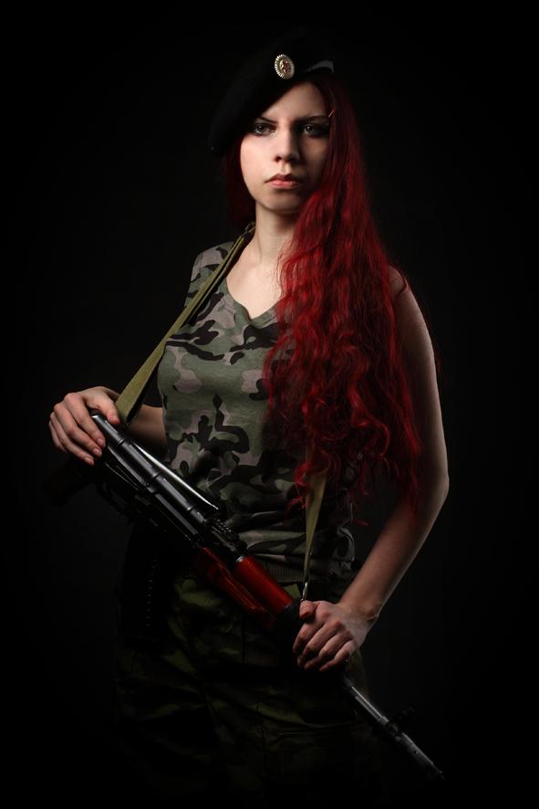 Фотосъемка в стиле милитари