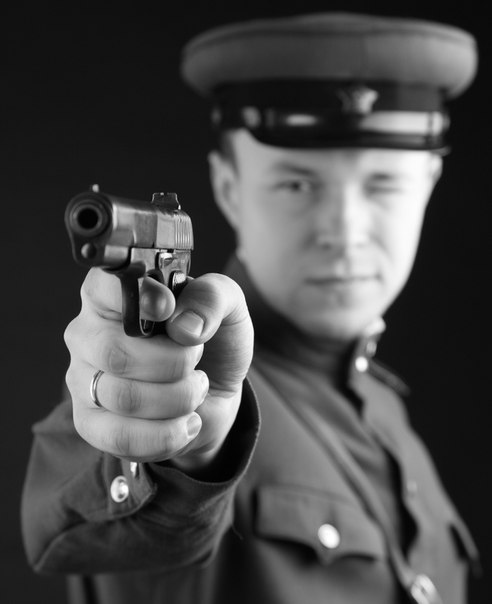Фотосъемка на 23 февраля в военной форме