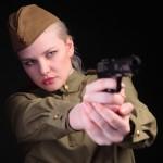 фотосессия в военной форме