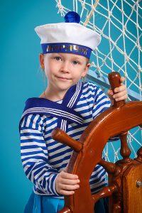 детская фотосессия морячка