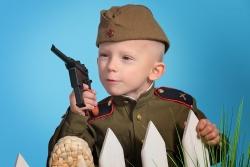 фотосессия на 9 мая ребенок
