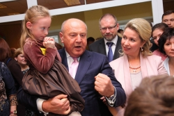 С. Медведева на дне ребенка НИИ Кулакова