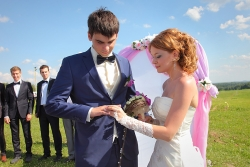 свадебная фотосъемка обмен кольцами